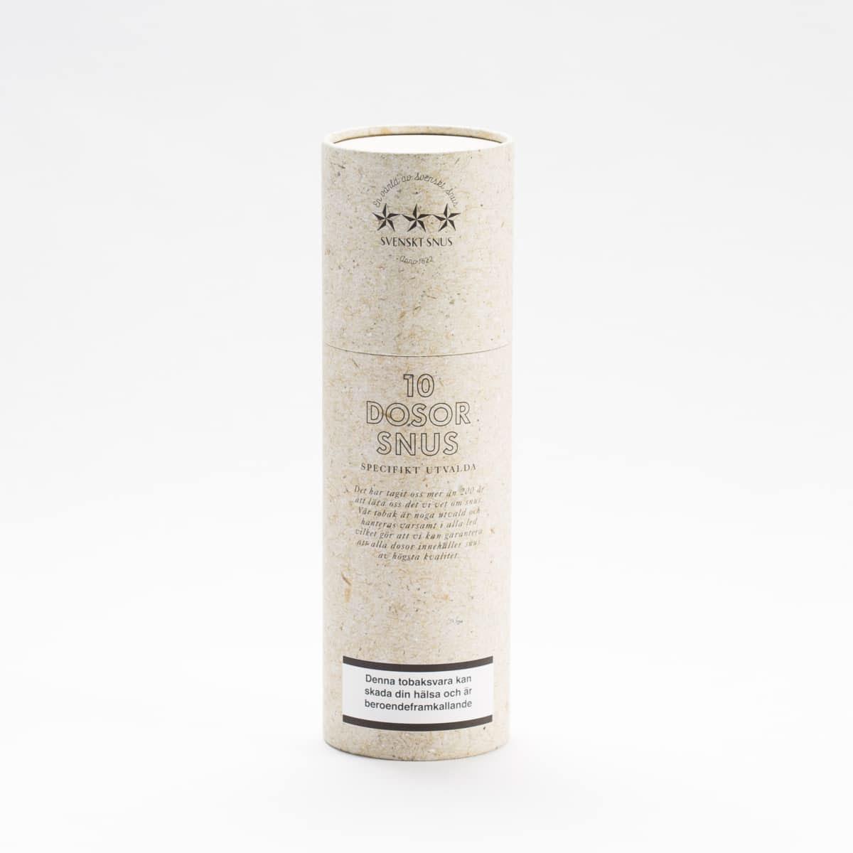 snus förpackning med eget tryck och design