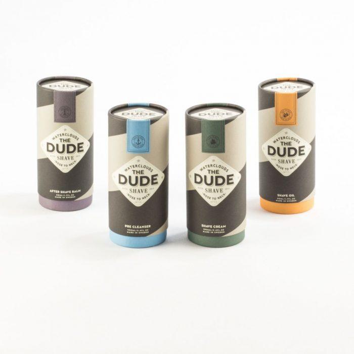 Klädda tuber i papp med eget tryck