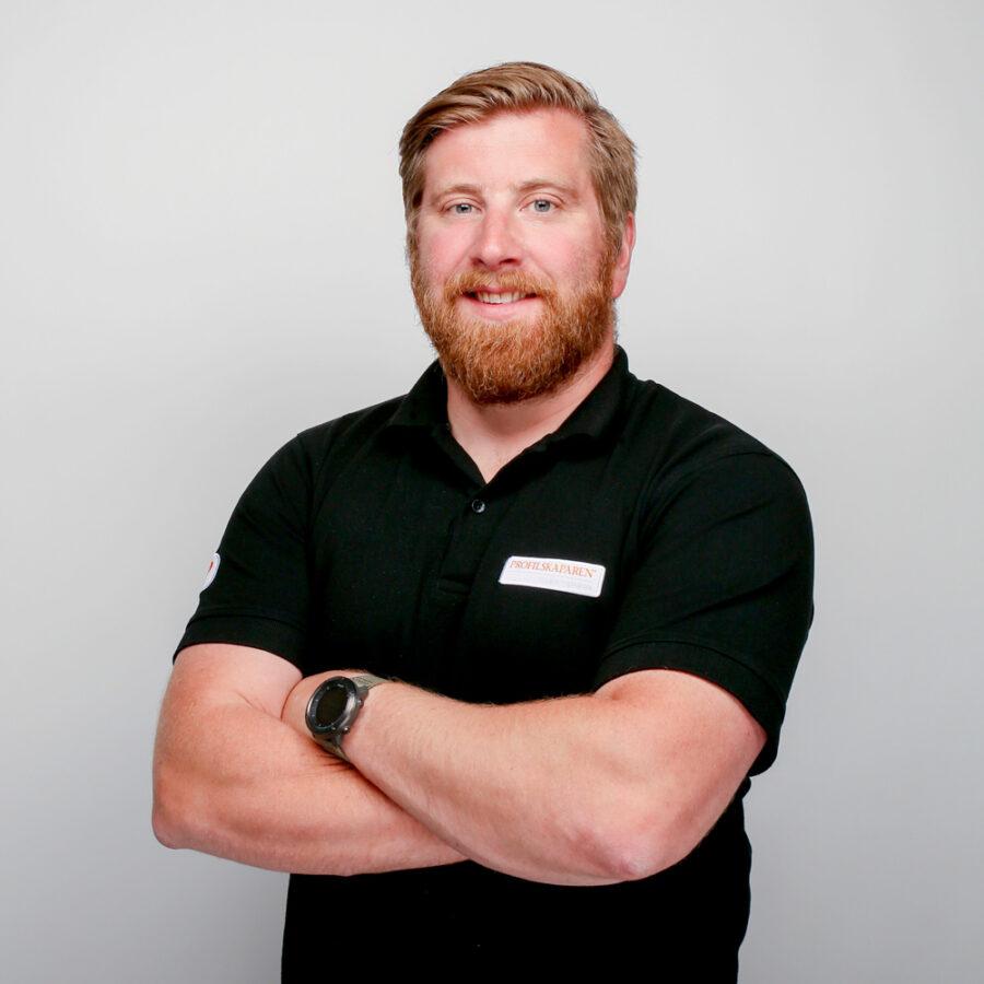 Andreas på profilskaparen