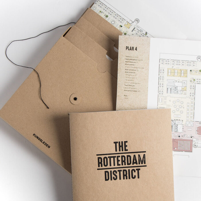 the rotterdam district - Profilprodukter i kartong med eget tryck och design