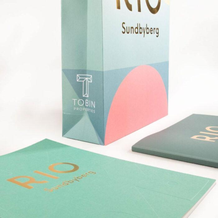 RIO Sundbyberg folierad bärkasse med design och tryck