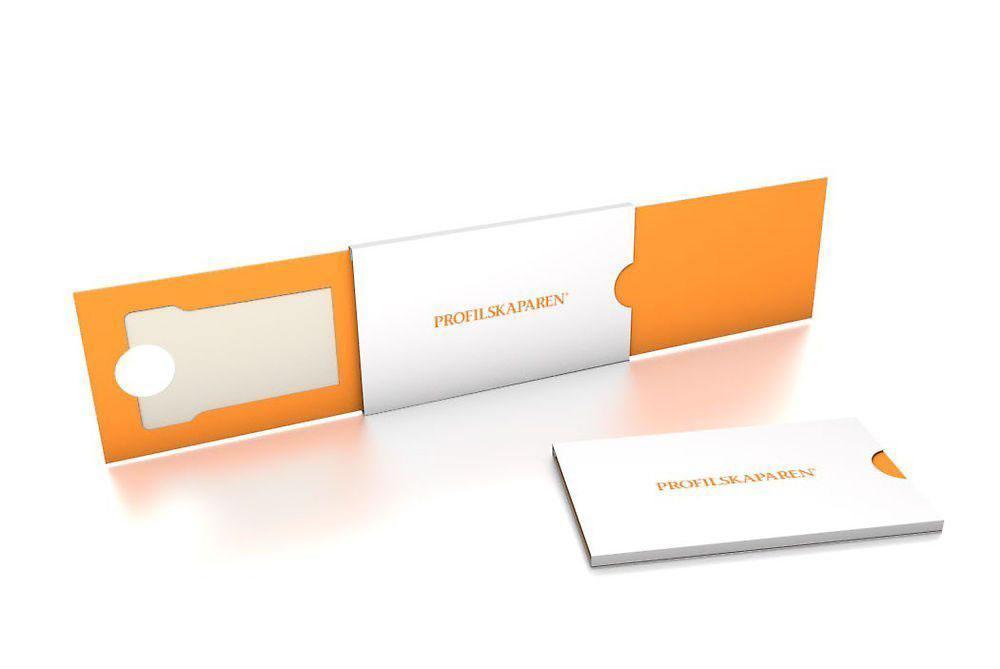 Profilskaparen exempel på förpackning